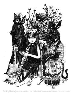 One Strange Band! emilystrange.com