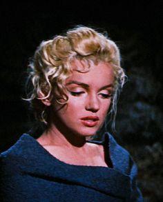 """Marilyn Monroe as Kay Weston in """"River Of No Return"""" 1954 Marilyn Monroe, Lauren Bacall, Cary Grant, Natalie Wood, James Dean, Alfred Hitchcock, Grace Kelly, Gerard Philipe, My Week With Marilyn"""