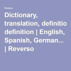 Dictionnaire français anglais | traduction français ... - photo#10