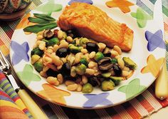 Warm White Bean Salad from Joy of Kosher