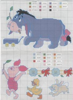 Scheme cross stitch Pooh24