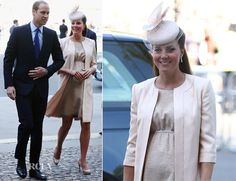 Catherine, Duchess of Cambridge in Jenny Packham – 60th Anniversary of the Queens Coronation
