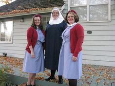 Call the Midwife costumes! Brilliant!