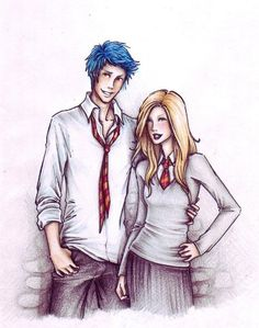 """""""Teddy Lupin & Victoire Weasley - Both descended from the House of Black, now extinct in the male line. If they end up together and have children, as the epilogue hints that they might, those children will be part-werewolf, part-Muggle, part-Metamorphmagus, part-Veela, part-blood-traitor, and yes, part-Black."""""""