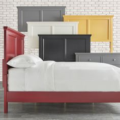 Shop for IQ KIDS Preston Queen-size Wood Panel Headboard bed. Get free delivery at Overstock.com - Your Online Furniture Outlet Store! Get 5% in rewards with Club O!
