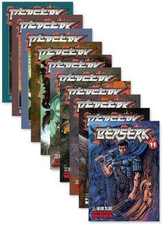 Berserk Graphic Novel Holiday Bundle 2 (11-20) - Price:$74.99 #RightStuf2013 #RightStuf2014