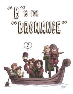 B Is For Bromance by Otis Frampton #ABCDEFGeeks #LordOfTheRings