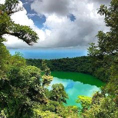 An emerald oasis.  The most rewarding view after a tough hike up Cerro Chato via @wander.south! #CostaRicaExperts #CostaRica