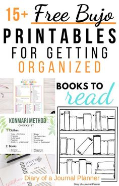 These are the free bullet journal printables you NEED for getting super organized in your bullet journal. Find trackers cleaning checklists and more! Bullet Journal Dot Grid, Bullet Journal Tracker, Bullet Journal Hacks, Bullet Journal Printables, Journal Template, Bullet Journal Spread, Bullet Journal Layout, Bullet Journal Inspiration, Journal Pages