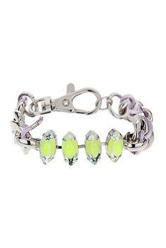 Fluro Chain Mix Bracelet