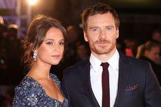 女優アリシアヴィキャンデルと俳優マイケルファスベンダーが極秘結婚