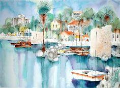 Shmuel Katz  (Israeli) 'Tiberias Light'