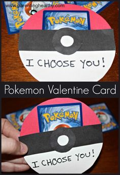 DIY Pokemon Valentine's Day cards   Valentines day
