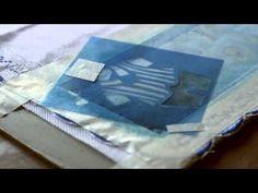 Pintura em tecido - Fralda com stencil.