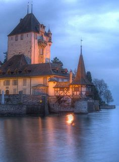 Oberhofen Castle, Oberhofen, Switzerland