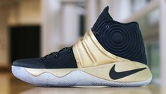 The Nike Kyrie 2 is on the road to the gold.