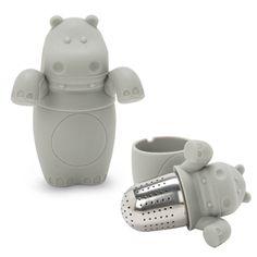 Grey Hippo Tea Infuser