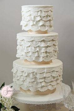 These Wedding Cakes are Incredibly Stunning - Sweetness Cakes & Confectionery
