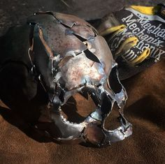 Weld by @shane_against_the_machine on #instagram #westcoweld #ukwelding #welding #weld #skull #art #metal #sculpture #dark #death #arczone #weldernation #weldporn