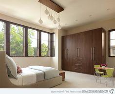 cool design 35 wooden bedroom wardrobe designs   inspiring