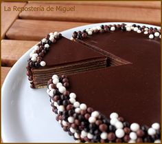Tarta de chocolate alemana #Mercavima