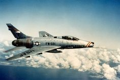 1954 North American F-100 Super Sabre
