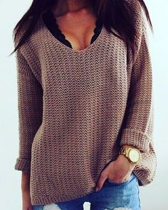 Slouchy style