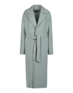 Rochas: Wool & Cashmere Wrap Coat