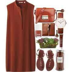 A fashion look from August 2015 featuring Uniqlo dresses. Browse and shop related looks.