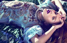 Scarlett Johansson in Dolce & Gabbana for Vogue Mexico 2013