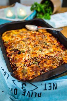 Vegetarisk rödbetsgratäng Vegetarian Crockpot Recipes, Vegetarian Cooking, Raw Food Recipes, Cooking Recipes, Healthy Recipes, I Love Food, Good Food, Yummy Food, Food Porn