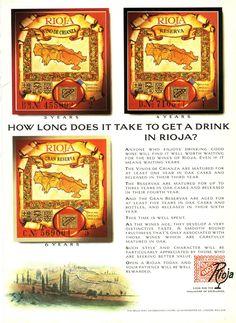 Quanto tempo demora a conseguir uma bebida em Rioja?