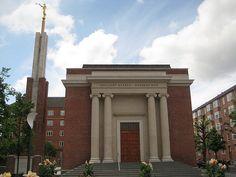 LDS Temple in Copenhagen, Denmark    #MormonLink #LDSTemples