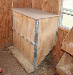 Cabinet chicken feeder