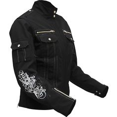 Speed and Strength Women's Little Miss Dangerous Textile Jacket