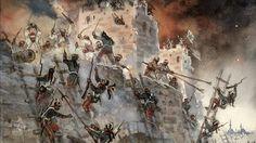 Взятие Суворовым турецкой крепости Измаил