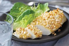 Almond-Crusted Chicken Dijon