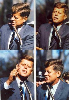 Senator John F. Kennedy During his Presidential Campaign