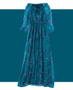 ロングワンピース  | Hit Item 3 FLORAL PRINT MAXI DRESS