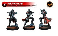 The Grenzer: a new troop type for Nomads coming soon in the Operation: Icestorm starter set.