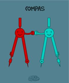 Compas - Happy drawings :)