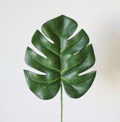 Feuille Philodendron artificielle 13cm : 1.60