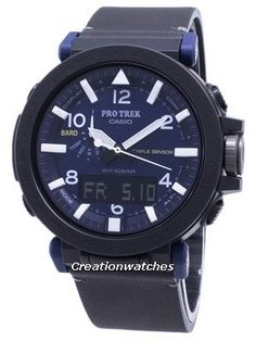 Watches For Sale like Casio PROTREK Quartz Analog Digital Men's Watch has Case/Bezel Material:Resin/Stainless Steel, Leather Strap, Quartz Movement, Caliber: Mineral Crystal, Navy Blue Dial Seiko 5 Military, White Watches For Men, Seiko 5 Sports Automatic, Casio Protrek, Countdown Timer, Watch Sale, Digital Watch, Casio Watch, Quartz