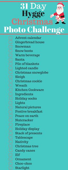 31 Day Hygge Christm