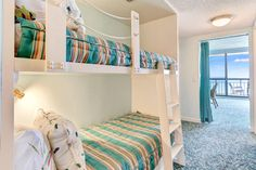 Nautical Style, Nautical Fashion, Ocean House, Beach House, Cool Kids Rooms, Bunk Beds, Condo, Feels, The Unit