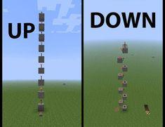 Vertical redstone - Minecraft World