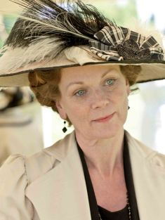 Lord Grantham's sister, Rosamund.