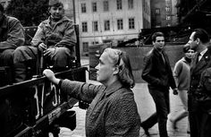 Invasion of Prague, August © Josef Koudelka/Magnum Photos Old Photography, Street Photography, Prague Spring, Classic Photographers, Weegee, World Conflicts, Elliott Erwitt, First Photograph, Ansel Adams