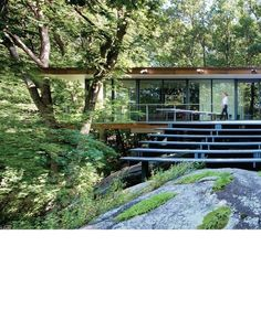 Midcentury house gets a renovation by Peter Gluck and Partners.