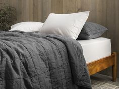 Essential Quilt - Graphite - Parachute :: $229 for Full/Queen (also available in White, Oatmeal, Indigo)